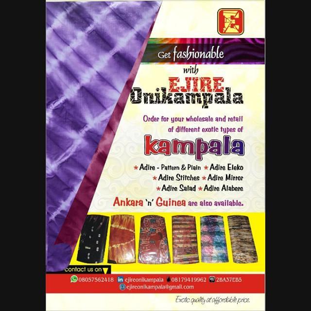 African Prints In Retro Meet Ejire Onikampala Musicartsng
